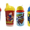 Superman and Batman Spill-Proof Sipper Cups