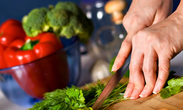Eat Your Medicine - Springfield: $115 for an In-Home Healthy-Cooking Class for Up to Six Adults from Eat Your Medicine ($250 Value)