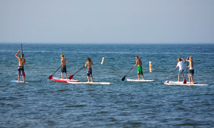MACkite - Grand Haven: One- or Two-Day Standup Paddleboard Rental for One or Two at MACkite (Up to 55% Off)