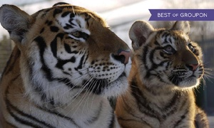 Lincolnshire Wildlife Park: Child, Adult or Family Entry to Lincolnshire Wildlife Park (Up to 44% Off)