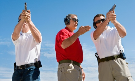 TwoHour Range Package for Two or Private Training for Two or Three at Full Blown Firearms (Up to 52% Off)