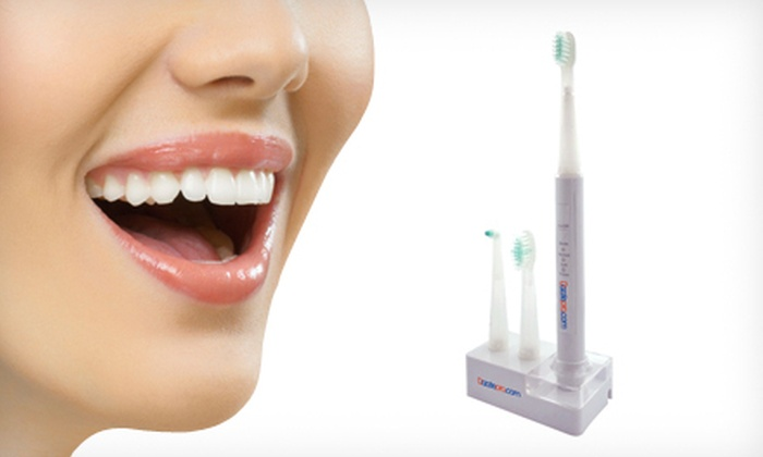 SlimSonic Electric Toothbrush: $39.99 for a SlimSonic Electric Toothbrush with Two Replacement Heads ($129 List Price)
