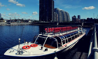 image for Christmas Cruise for a Child, Adult or Family of Four with Manchester River Cruises (Up to 45% Off)