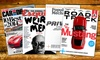 Esquire, Popular Mechanics, or Road & Track Magazine from Hearst: 1-Year Subscription to 2 Magazines, Including Car and Driver, Esquire, Popular Mechanics, and Road & Track, from Hearst