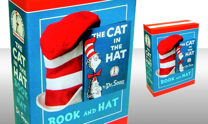 Dr. Seuss The Cat in the Hat Boxed Set with Book and Hat: Dr. Seuss The Cat in the Hat Boxed Set with Book and Hat. Free Shipping.