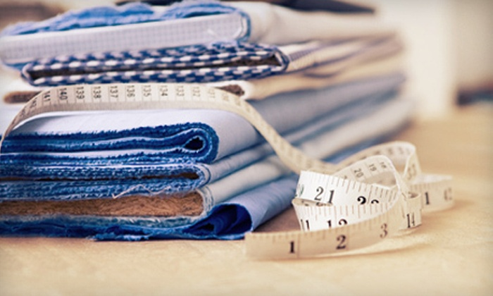 Creative Sewing Lessons - North Attleborough: $65 for Five Adult Beginner Sewing Lessons at Creative Sewing Lessons in North Attleboro ($135 Value)