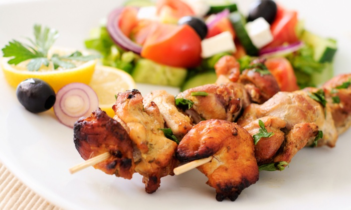 Jerusalem Grill - San Antonio: Middle Eastern Food at Jerusalem Grill (Up to 52% Off). Two Options Available.