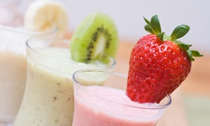 $12 For Four Groupons, Each Good For $6 Worth Of Smoothies At Gator Smoothie ($24 Total Value)