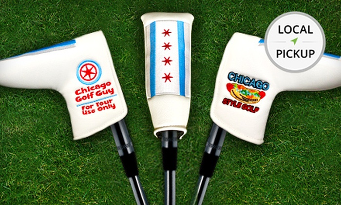Chicago Style Golf - West Town: Chicago Flag Putter Cover. Pick Up in Store at Chicago Style Golf.