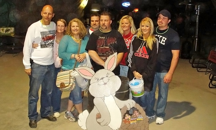 Crystal City Underground Adult Egg Hunt to benefit the Warriors Heart Foundation - Plattin: Two Standard or VIP Entries to the Crystal City Underground Adult Egg Hunt on April 11 or 12 (50% Off)