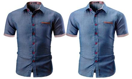 Chemise style Jean pour Homme de la collection Marshall