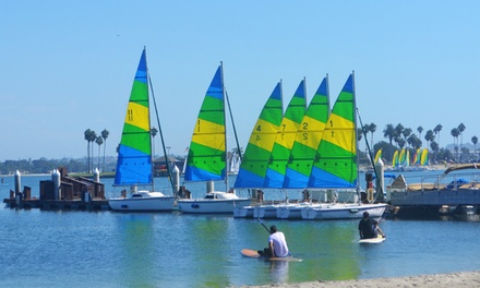 $30 for a 30-Minute Sailing Lesson and a 60-Minute Sailboat Rental at Resort Watersports ($60 Value)