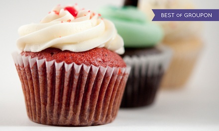 $8.99 for One Dozen Pre-Assorted Mini-Cupcakes at Flirt Cupcakes ($16.95 Value).