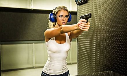 Shooting-Range Package for Two or Four at The Armory (Up to 54% Off)