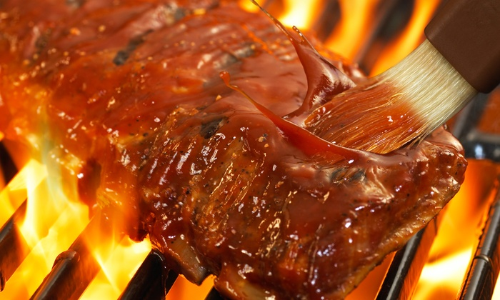 Smokin' Aces - Douglaston: Barbecue for Two or Four or More, Catering, or Take-Out at Smokin' Aces (50% Off)