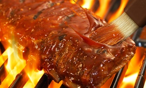 Smokin' Aces: Barbecue for Two or Four or More, Catering, or Take-Out at Smokin' Aces (50% Off)