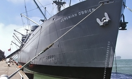 Visit for Two, Four, or Six to the Jeremiah O'Brien Liberty Ship (Up to 60% Off)