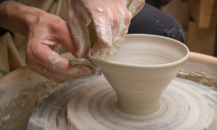 Redbird Studio & Gallery - Columbia: BYOB Intro Pottery Class for Two or Four, or Four Weeks of Kids' Classes at Redbird Studio & Gallery (Up to 60% Off)