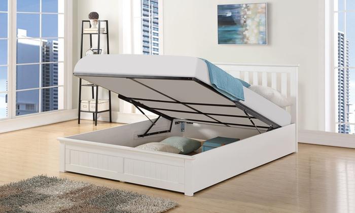 Black Friday Deal Bed Frame Storage King