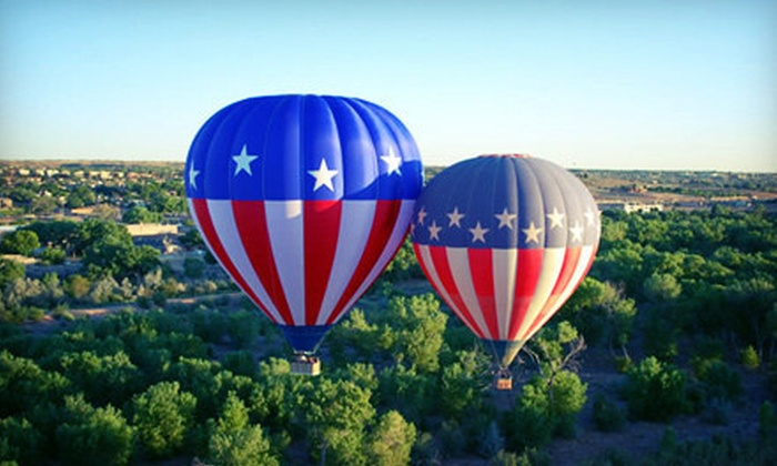 Balloons Over the Rainbow - Murphy: Hot Air Balloon Ride for One or Two from Balloons Over the Rainbow (Up to 51% Off)