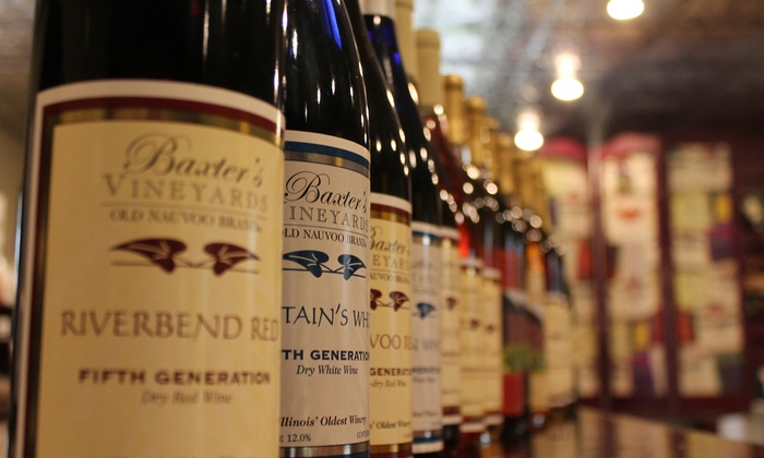 Baxter's Vineyards & Winery - Grant Wood: Winery Tour Package for Two, Four, or Six at Baxter's Vineyards & Winery (Up to 50% Off)
