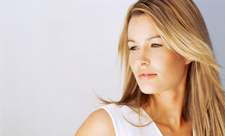 $62 for a Haircut Package with Partial Highlights, Shampoo, and Blow-Dry at Tricho Salon & Spa ($145 Value)