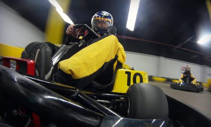 Checkered Flag Indoor Karting - Haverhill: $15 Worth of Indoor Go-Karting