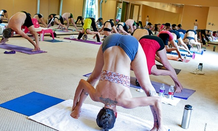 Yoga Classes or Strength & Stretch Sessions at Firehouse Hot Yoga (Up to 60% Off)