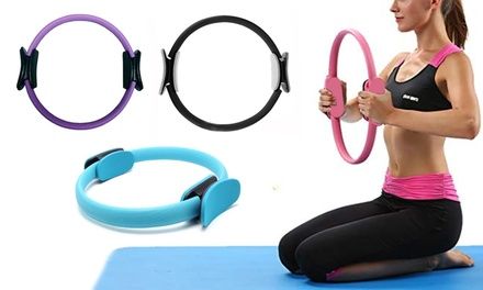 Yoga and Pilates Ring for Toning and Resistance Exercise: One $16, Two $29 or Four $49 Don't Pay up to $279.6