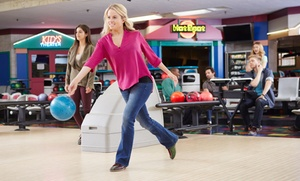 Waveland Bowl: Three Games of Bowling for Two or Two Hours of Cosmic Bowling for Ten at Waveland Bowl (Up to 51% Off)