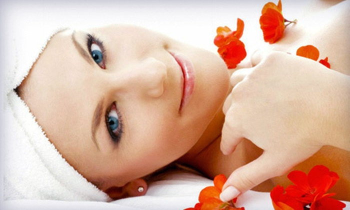 Amnesia Salon and Spa - North Las Vegas: Hot-Stone Massage with Facial or a Relaxation Package at Amnesia Salon and Spa (Up to 64% Off)