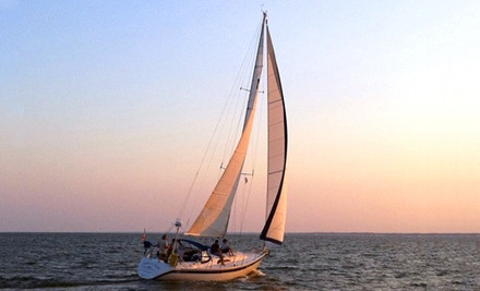 3-Hour Sailing Cruise for Up to 3 People (a $195 value) - Jersey Coastal Adventures in Lacey
