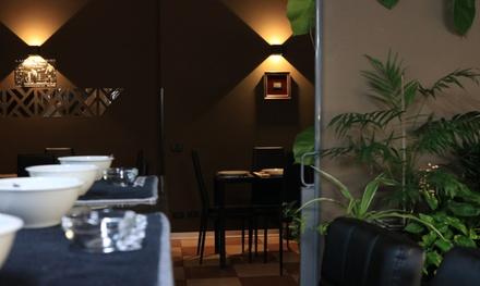 Menu di carne con dolce e calice di vino per 2 o 4 persone al ristorante Degusto (sconto fino a 57%)