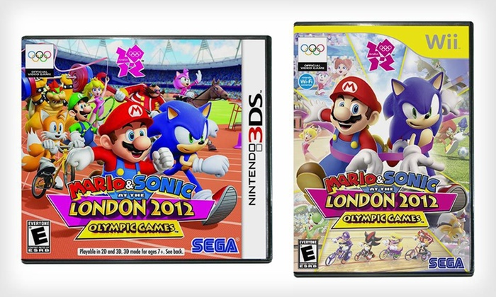 """Mario & Sonic at the London 2012 Olympic Games"": ""Mario & Sonic at the London 2012 Olympic Games"" for Nintendo Wii or 3DS (Up to 42% Off). Free Shipping and Returns."