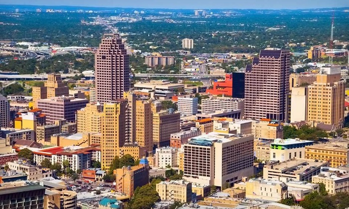 null - San Antonio: Stay for Up to Four at Crowne Plaza San Antonio Airport