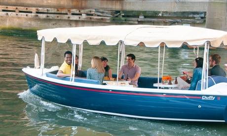 $99 for a Two-Hour Electric Boat Rental from Chicago Electric Boat Company ($300...