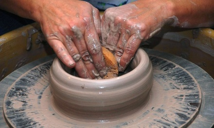 Two-Part  Pottery Workshop for One, Two, or Four at potterypeace (Up to 60% Off)