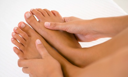 77% Off Three Laser Toenail-Fungus Treatments