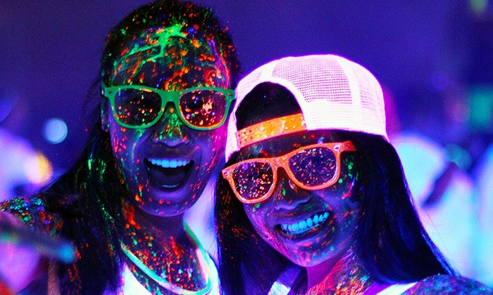 Neon Dash - Austin: Entry to the Neon Dash at Travis County Exposition Center on Saturday, September 13 (Up to 55% Off)