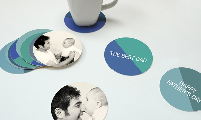 Paper Culture: $10 for a Set of Personalized Coasters from Paper Culture ($24.99 Value)