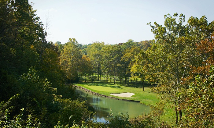 Shaker Run Golf Club - Turtlecreek: $104.99 for a VIP Round of Golf with Forecaddie and Lunch for Two at Shaker Run Golf Club ($244 Value)