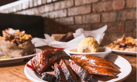 Food and Drinks at J & M Bar-B-Q (Up to 44% Off). Two Options Available.