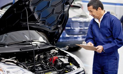 image for Oil Change, Mechanical Inspection and Diagnostic Package with Discounted MOT Tests for £19.95 at Driving Force (91% Off)
