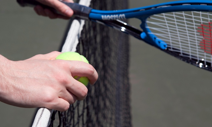 M&M Tennis Services - Boston: Tennis-Racket Restringing with Option for Synthetic-Grip Replacement from M&M Tennis Services (50% Off)