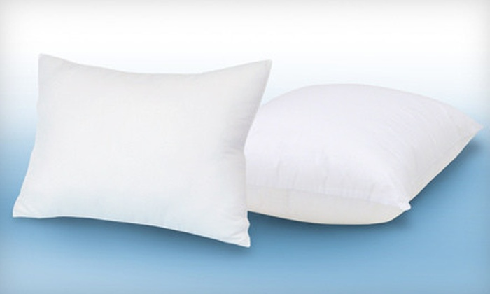 Coolmax Premium Comfort Pillows: $29 for a Two-Pack of Coolmax Premium Comfort Pillows ($59.99 List Price)