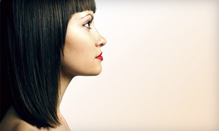 Jenni Teague at Muse Hairdressing - Petaluma: Haircut with Option for Single-Process Color or Mini Highlights from Jenni Teague at Muse Hairdressing (Up to 54% Off)