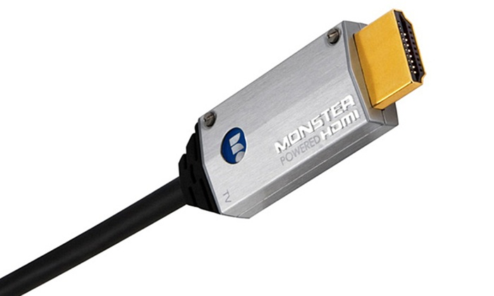 Monster 13.1ft. SuperThin High-Speed Powered HDMI Cable: Monster 13.1ft. SuperThin High-Speed Powered HDMI Cable
