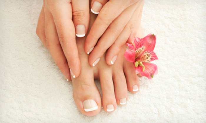 Metropolis Salon and Spa - Deephaven: Mani-Pedi Spa Package or $60 for $120 Worth of Beauty Services at Metropolis Salon and Spa