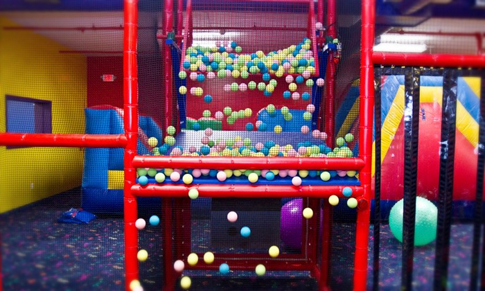 Long Island Laser Bounce - Levittown: Open-Play or Laser-Tag Package with Snack, Drink, and Tokens at Long Island's Laser Bounce (51% Off)