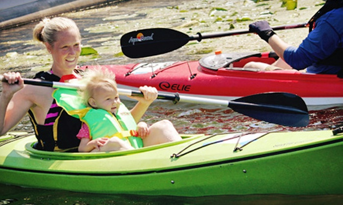 Lakeshore Kayak Rental - Grand Haven: All-Day Kayaking Trip for One, Two, or Four from Lakeshore Kayak Rental (Up to 53% Off)
